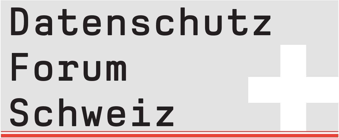 Datenschutzform - Schweiz